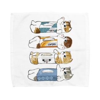 mofusandのいつもお側に。 Towel Handkerchief