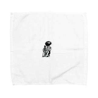 家族写真 Towel handkerchiefs