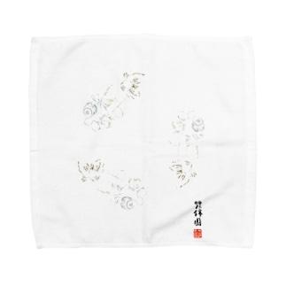 【金魚】花房頂天眼~巴~ Towel handkerchiefs