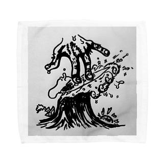 junk session Towel handkerchiefs