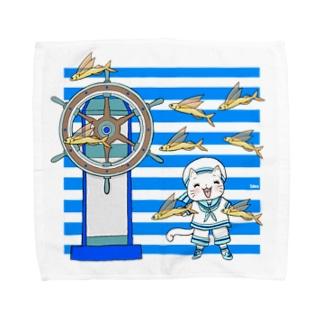 ボンボヤージュ、パッソ‼️ Towel handkerchiefs