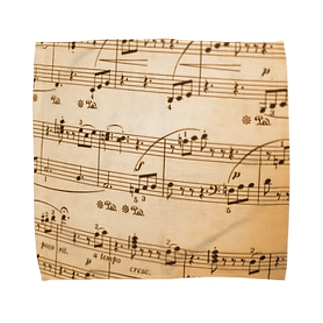 譜面 Towel handkerchiefs