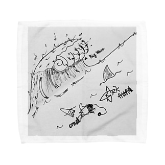 BIG WAVE Towel handkerchiefs