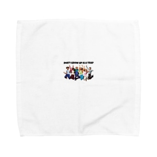 Don't grow up is a trap Towel handkerchiefs