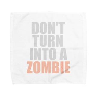 ゾンビにならないで! Towel handkerchiefs