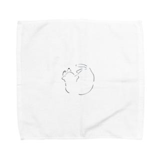まるまるいぬ Towel handkerchiefs