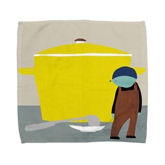 KOBALT絵 Towel handkerchiefs