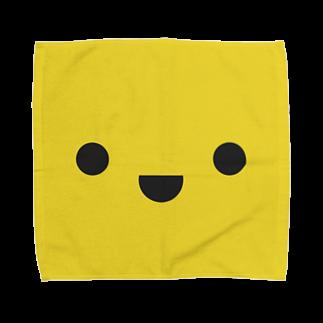 shimojuのきいろいやつ Towel handkerchiefs