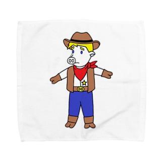 テリー・イャーキ・ブターノ Towel handkerchiefs