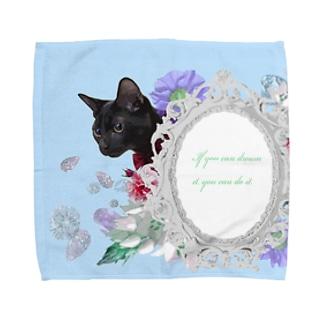 姫ねこ Towel handkerchiefs