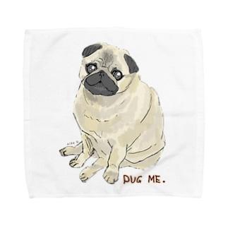 パグ ME🌸 Towel handkerchiefs