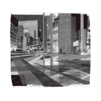strange city Towel Handkerchief