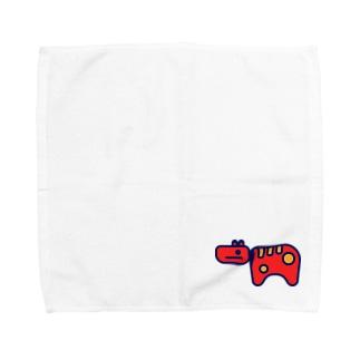 Akabeko 赤べこ Towel handkerchiefs