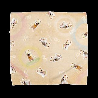 GignoSystemJapanの犬の俊介(タオルハンカチ) タオルハンカチ