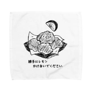 からあげ Towel handkerchiefs