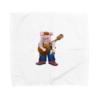 BLUES DOG  ガムサボール山道RX Towel handkerchiefs