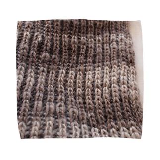 イギリス編み タオルハンカチ