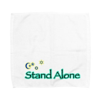 StandAlone社 オリジナルロゴver.2 Towel handkerchiefs