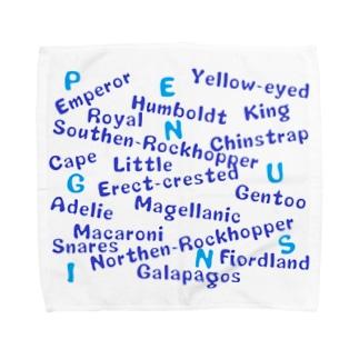 ぺんぎんのなまえいえるかな Towel handkerchiefs