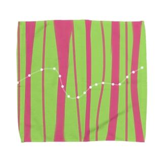 line Towel handkerchiefs