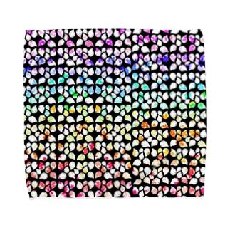 花咲くロクマル Towel Handkerchief