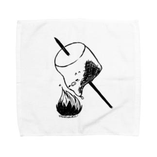 マシュマロ Towel handkerchiefs