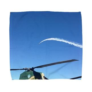 うねる飛行機雲 Towel handkerchiefs