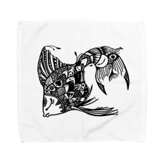SAKANA Towel handkerchiefs