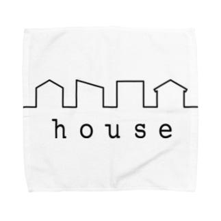 picsel house Towel handkerchiefs