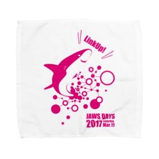 JAWS DAYS 2017 LinkUp PINK Towel handkerchiefs