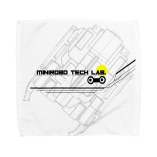 ミニテクグラフィック Towel handkerchiefs