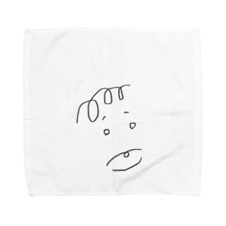 ポー・ボーくん Towel handkerchiefs