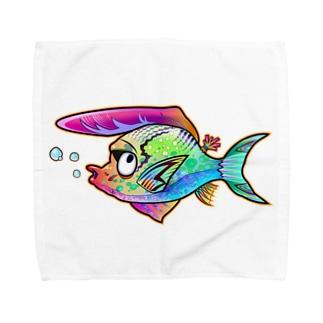 ツッパリフィッシュ Towel handkerchiefs