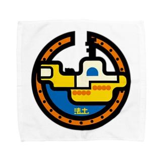 パ紋No.2916 法土 Towel handkerchiefs