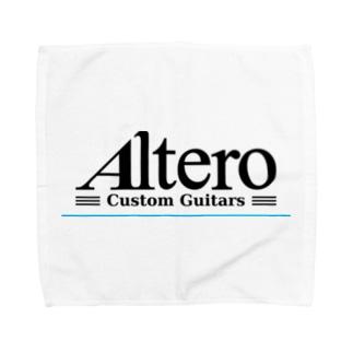 Altero Custom Guitars02(淡色向け) タオルハンカチ