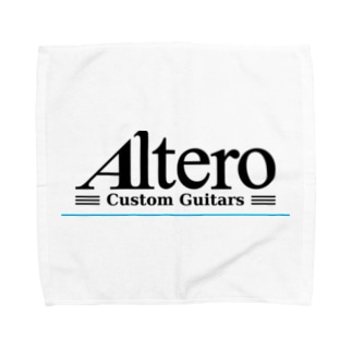 Altero Custom Guitars02(淡色向け) Towel handkerchiefs