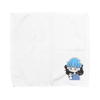 【#噂のぽれくん®】#噂のぽれグッズ Towel handkerchiefs