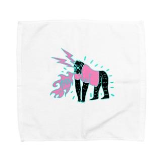 ysdillustのゴリーラ Towel handkerchiefs