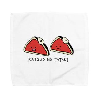 かつおのたたき Towel handkerchiefs