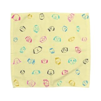 ナンディーで手を拭こう Towel handkerchiefs