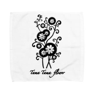 たまたまフラワー🌸 Towel handkerchiefs