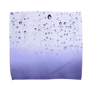 水滴をとじこめる Towel handkerchiefs