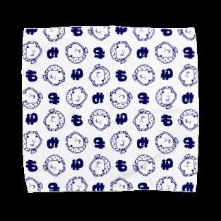 MORPHEUS&もんぺの手ぬぐい風ホッカムリ二スト Towel handkerchiefs