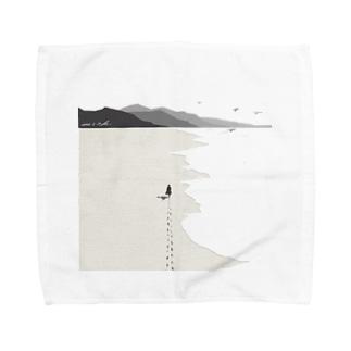 Travel alone Towel handkerchiefs