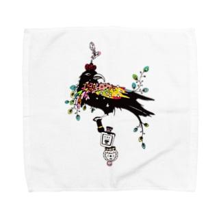 詐欺の王様 Towel handkerchiefs
