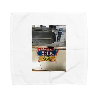 テストですね Towel handkerchiefs