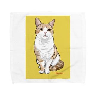 アメショのボワちゃん Towel handkerchiefs