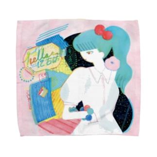 迷宮 Labyrinth Towel handkerchiefs