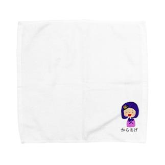 からあげ桜 Towel handkerchiefs