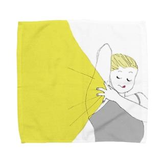 レーザー脱毛 Towel handkerchiefs